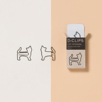 Büroklammern »stehende Katze«
