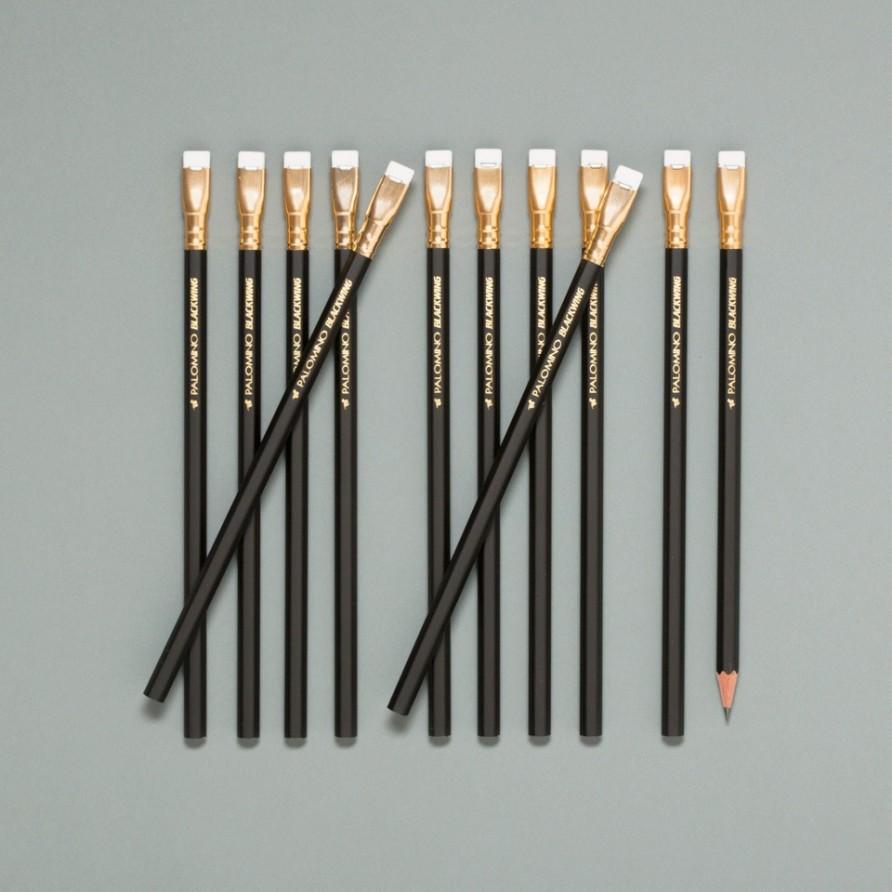 schwarzer Blackwing Bleistift von Palomino im 12er Set
