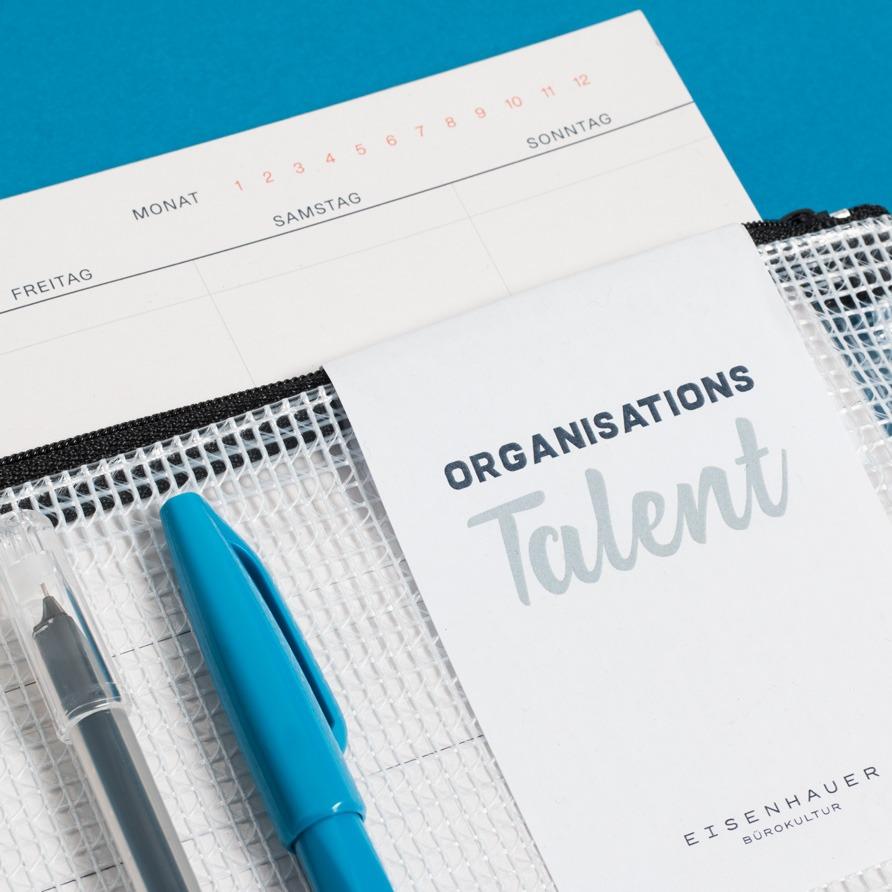 Geschenkpaket Organisationstalent Labeldetail