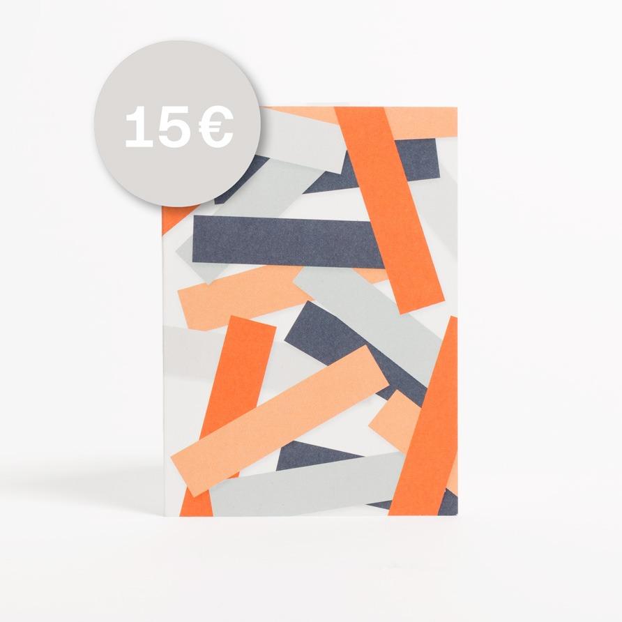 Eisenhauer Geschenkgutschein in Höhe von 15 Euro