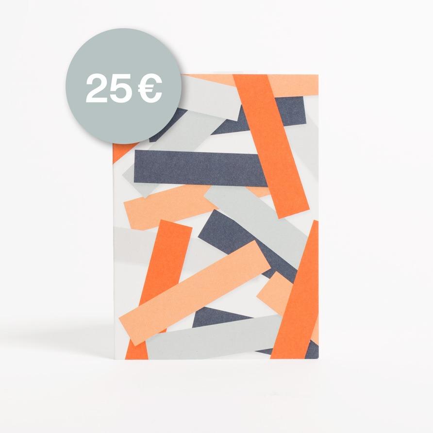 Eisenhauer Geschenkgutschein in Höhe von 25 Euro