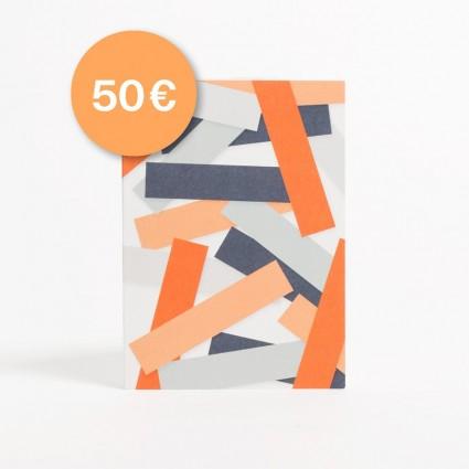 Eisenhauer Geschenkgutschein in Höhe von 50 Euro