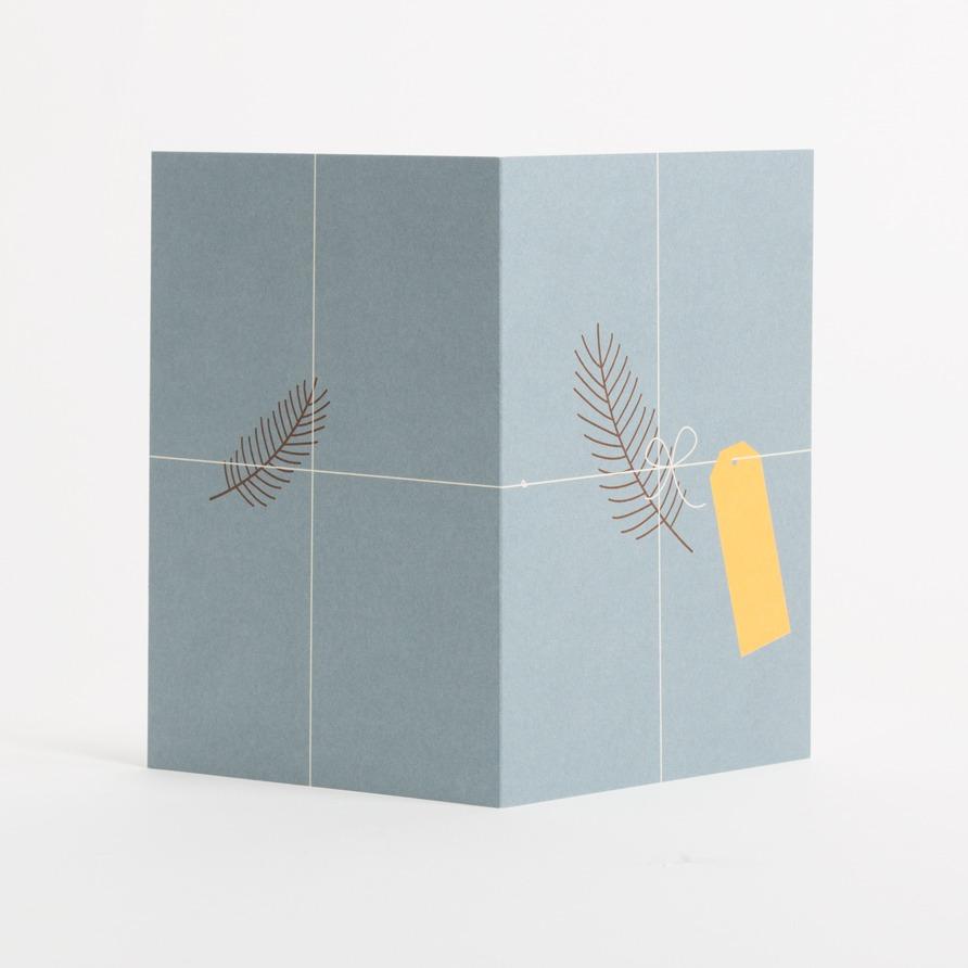 Eisenhauer Grusskarte »Geschenk« Außenseite