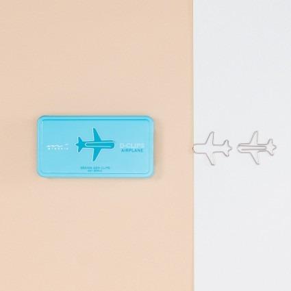 Büroklammern – Flugzeug