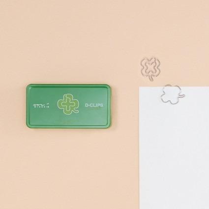 Büroklammern – Kleeblatt