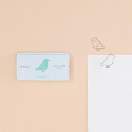 Büroklammern – Vogel