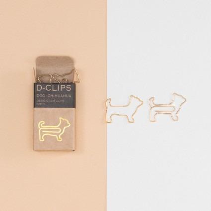 Büroklammern – Chihuahua Hund