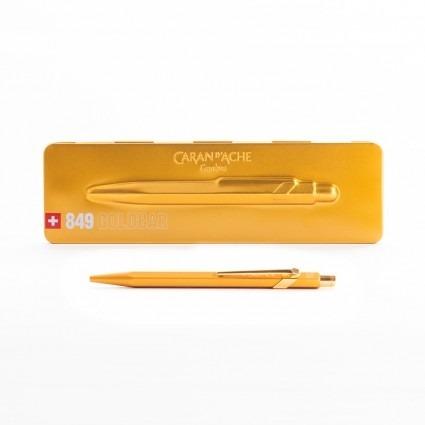Kugelschreiber 849 gold mit Etui