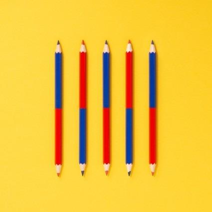Rot-Blau-Stift