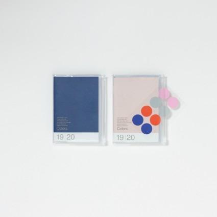 A6 Kalender mit Umschlagtasche