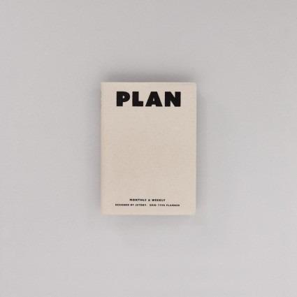 undatierter Kalender Plan beige