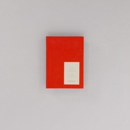 Notizbuch klein rot Notem