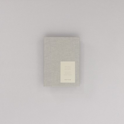 undatierter Kalender Notem grau