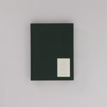 Arbeitsbuch groß dunkelgrün Notem