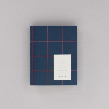 Notizbuch dunkelblau Notem