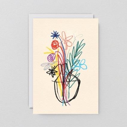 Grußkarte Bouquet