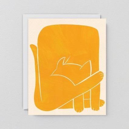 Grußkarte Katze