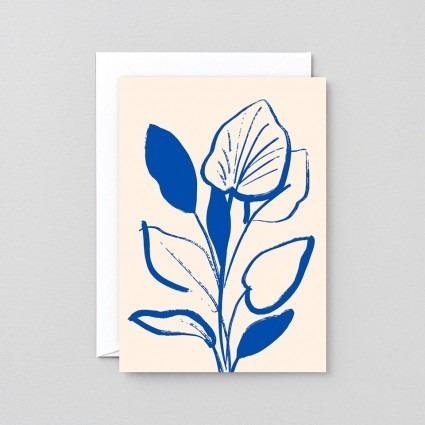 Grußkarte Lilie