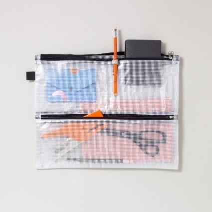 Mesh Bag für A4 mit vier Fächern
