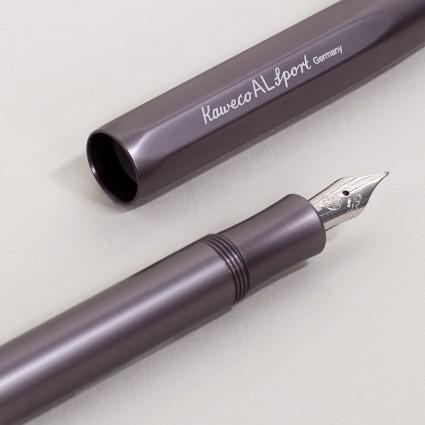 Füllhalter Aluminium Anthrazit – Kaweco Sport