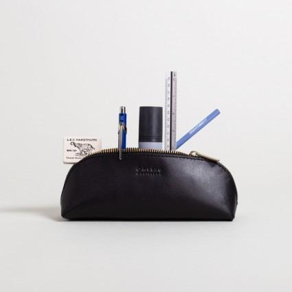 Stiftetasche groß – schwarz