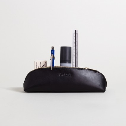 Stiftetasche klein – schwarz