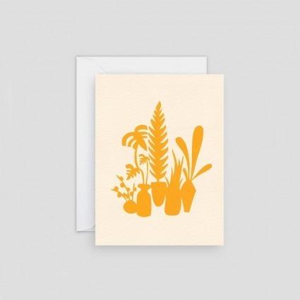 Minikarte gelbe Pflanzen