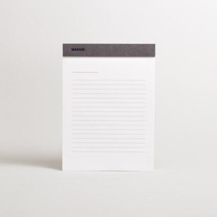 Notizblock mit Linien