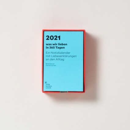 Abreißkalender – Was wir lieben 2021