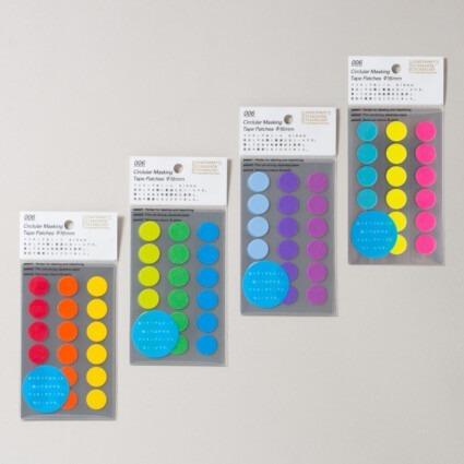 16 mm Papierklebepunkte