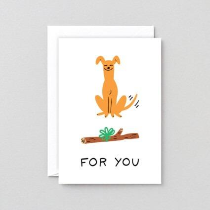 Grußkarte For you
