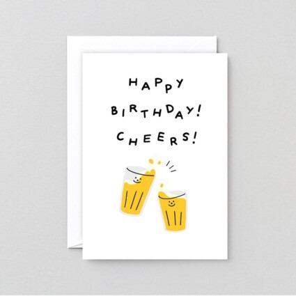 Grußkarte Cheers