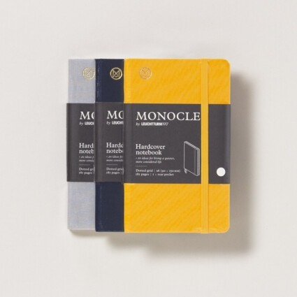 Notizbuch Monocle Hardcover A6