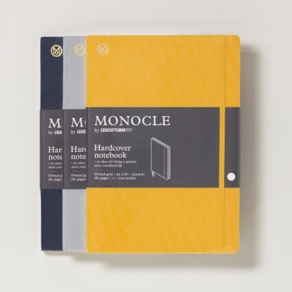 Notizbuch Monocle Hardcover B5