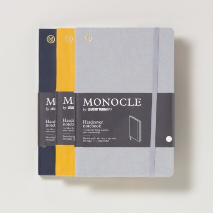 Notizbuch Monocle Hardcover B6+