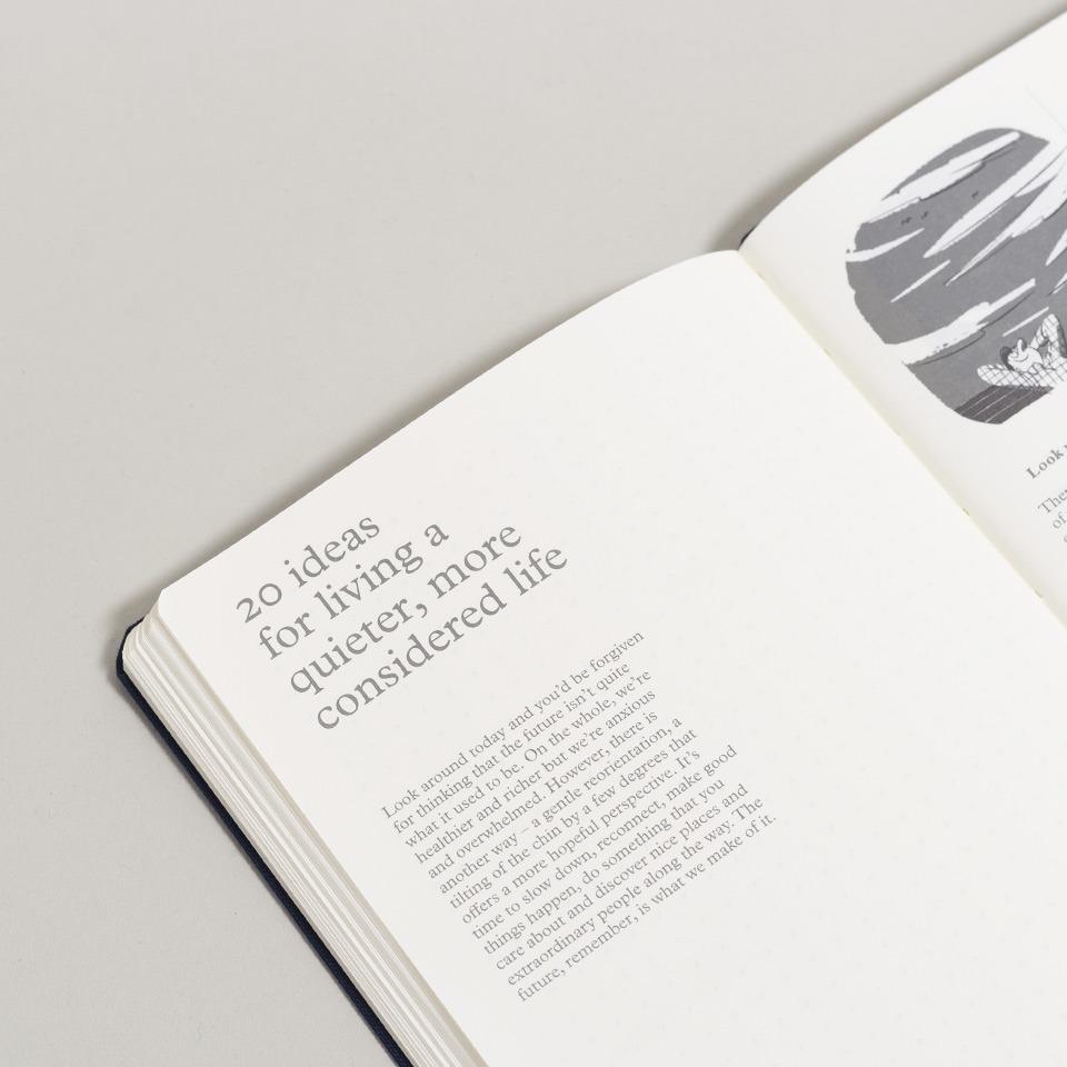 Notizbuch Monocle Softcover B20+