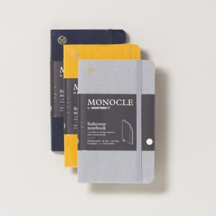 Notizbuch Monocle Softcover A6