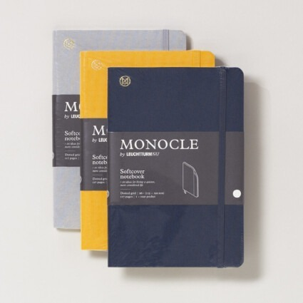 Notizbuch Monocle Softcover B6+