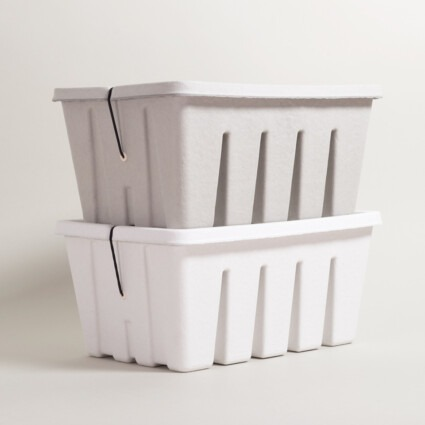 Aufbewahrung Pulp Tool Box aus Pappe