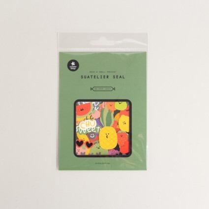 Sticker Früchte