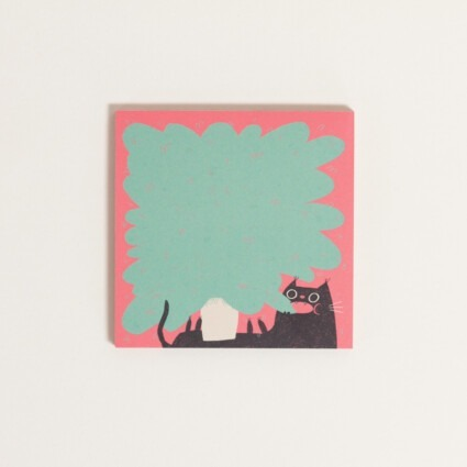 Notizblock – Plant Cat