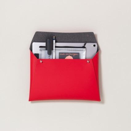 Kleine Dokumententasche Rot