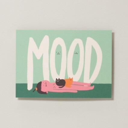 Postkarte Mood